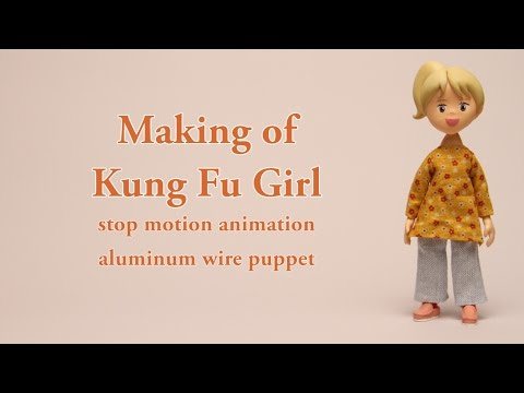 Stop Motion Animation / Making of KUNG FU GIRL