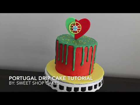 Portugal Drip Cake Tutorial | Sweet Shop Cakes