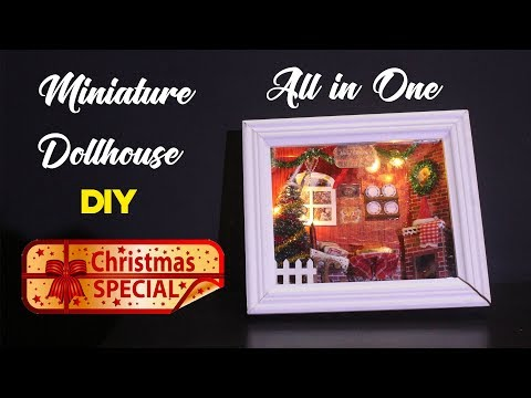 All in One DIY Christmas Special   DIY Works   Miniature Dollhouse