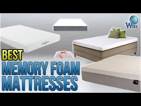 10 Best Memory Foam Mattresses 2018