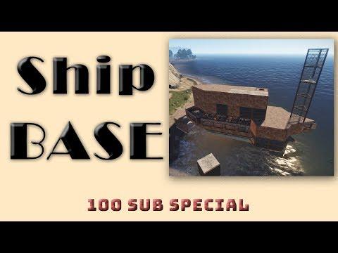Ship Base I Rust Base Design Tutorial I Building 3.2