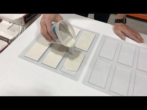 Pour your own concrete tile with Z Tileform.