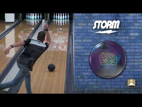 Storm Code X Bowling Ball by Scott Widmer, BuddiesProShop.com