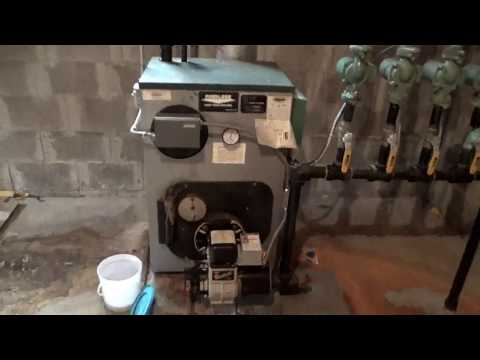 Hot water boiler inspection