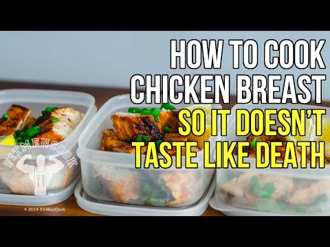 How to Cook Moist Chicken Breast So it Doesn't Taste Like Death / Como Cocinar Pechuga de Pollo