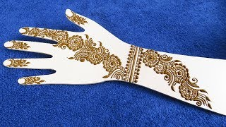 New Best Mehndi designs Idea for hands || easy and simple mehndi designs || jaipurthepinkcity
