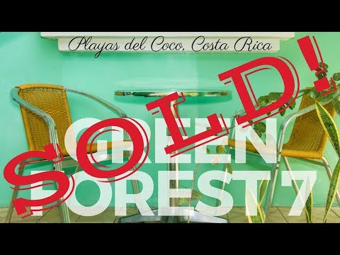 *** FOR SALE *** Green Forest 7 – Playas del Coco, Guanacaste, Costa Rica