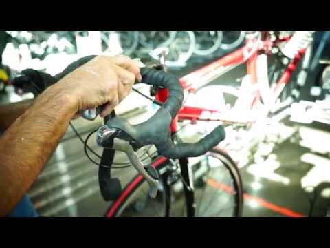 Road Bicycle Handlebar Tape Installation