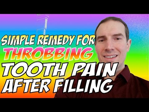 $10 Remedy For Throbbing Tooth Pain After Filling