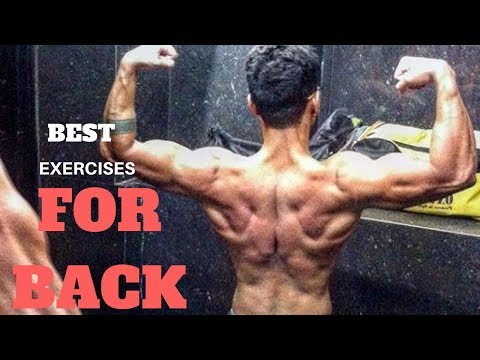 5 Advanced Exercises For Back | Best Exercise For Back | 5 Back Exercise For Mass | Back Workout