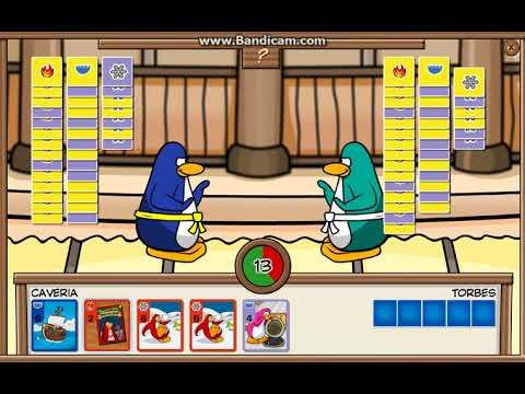 Club Penguin Rewritten Card Jitsu Yellow, Purple vs. Yellow Purple Part 4/4