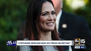 Stephanie Grisham tapped as new White House press secretary