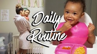 DAILY ROUTINE   Mommy & Baby   RAVEN ELYSE
