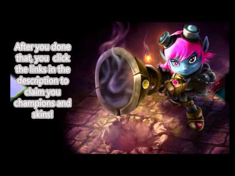 league of legends ~how to get free champions and skins~