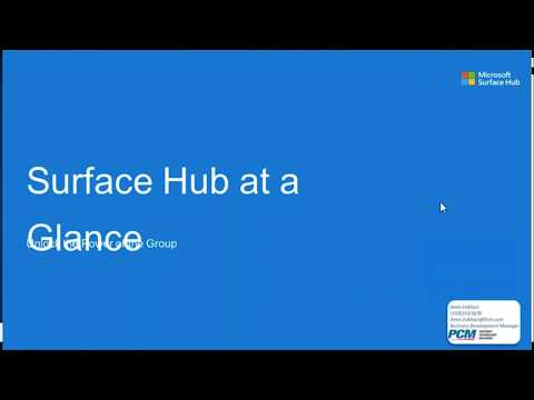 Surface Hub: Unlock the Power of the Group