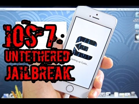 NEW How To Jailbreak iOS 7.0.4 UNTETHERED iPhone 5S/5C/5/4S/4 iPad Air/4/3/2/Mini & iPod 5G