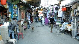 Indian Town Bhinmal Video of Ghanta Ghar etc.घंटाघर भीनमाल.Rajasthani People.Village in India