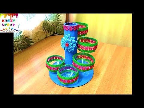 Plastic bottle craft | Plastic bottle organizer | Best out of waste