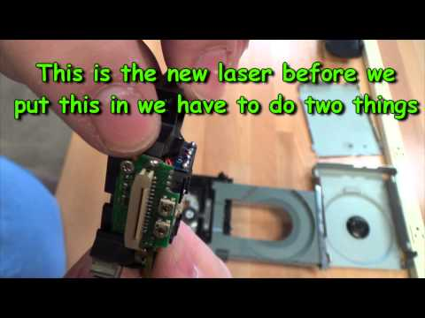 Xbox 360 Laser Replacement Guide