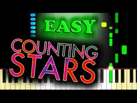 ONEREPUBLIC - COUNTING STARS - Easy Piano Tutorial