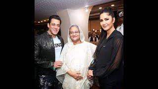 Salman Khan and Katrina Kaif speech Dhaka Bangladesh Prime Minister Shekh Hasina IN BPL 2019 LIVE