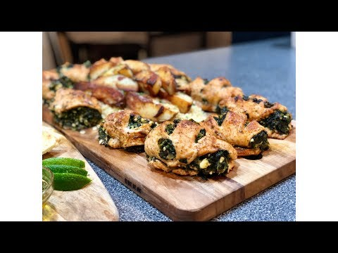 Stuffed Chicken With Spinach & Feta !!!