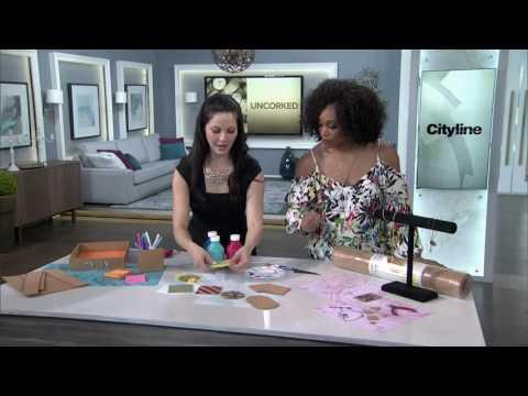 3 creative cork crafts—DIY desk accessories, jewelry + coasters