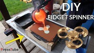 DIY Fidget Spinner From Bullet Shells
