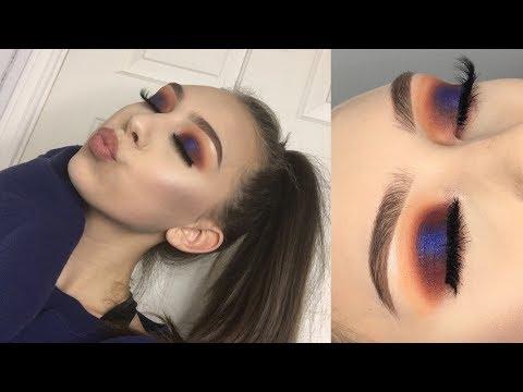 Blue Halo Eyeshadow Tutorial | Jaclyn Hill Palette