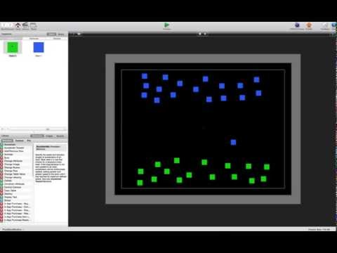 GameSalad Free Template - Real Time Strategy Game Mechanics - Targeting/Pathfinding
