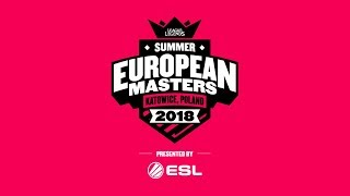 EU Masters Summer 2018 - Finals