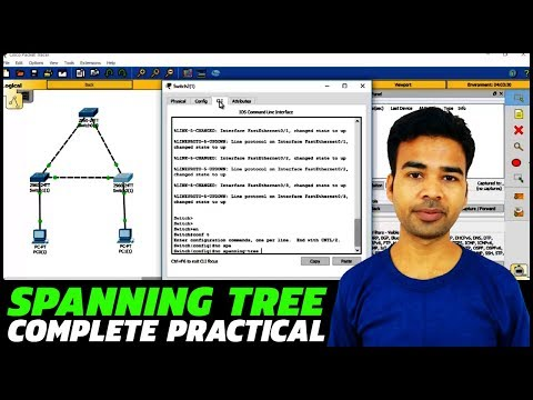 How to configure Spanning Tree Protocol & how does it work | Complete Practical