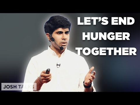 How I Will End Hunger Problems in India | Ankit Kawatra (Forbes 30 Under 30)