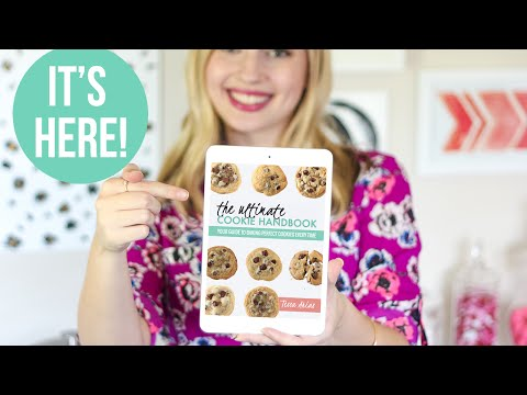 IT'S HERE!! The New Ultimate Cookie Handbook is on SALE :)