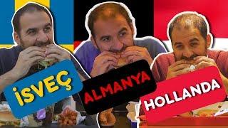 3 Farklı Ülkede McDonald's'ları Test Ettik - İsveç, Almanya, Hollanda