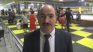 Başkan Akdoğan'dan Sporculara Tesis