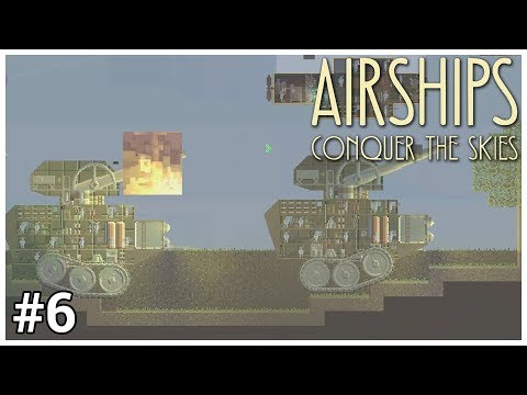 Airships: Conquer the Skies - #6 - Tetrarch - Let's Play / Gameplay