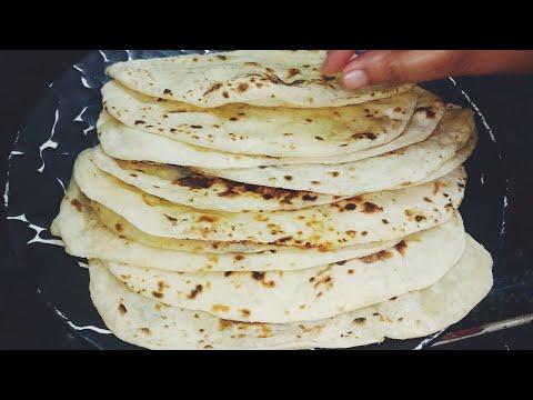 Naan Recipe - No Oven No Yeast | Naan without Tandoor - Naan on Tawa Indian Flat bread