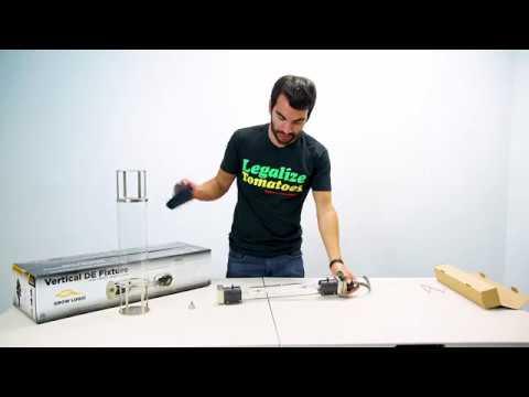 Grow Logic Vertical Socket Double Ended (DE) Grow Light Fixture Unboxing & Review