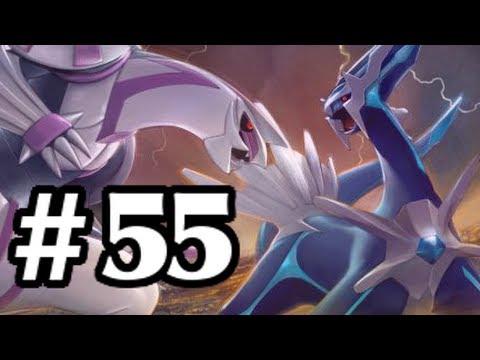 Let's Play Pokemon: Platinum - Part 55 - Palkia & Dialga