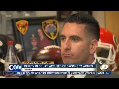 Deputy accused of groping 12 women