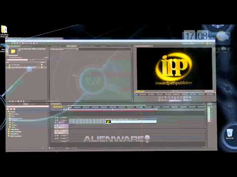 How to insert Background-less PNG Animated Logos in Adobe Premiere
