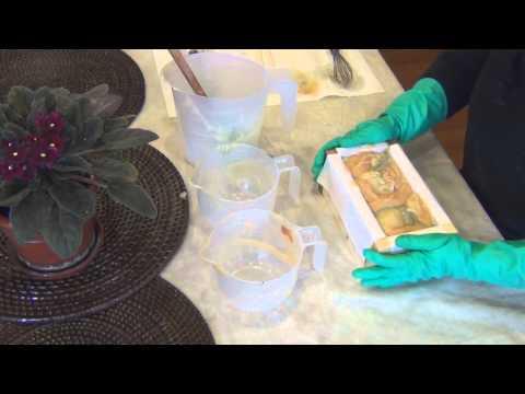 * Let's Go Natural * Making Cold Process Soap Using Botanicals & Essential Oils