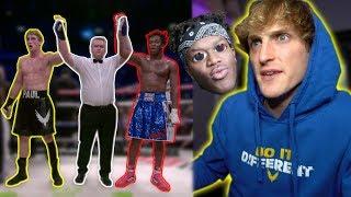 Why Ksi Did Not Beat Logan Paul!