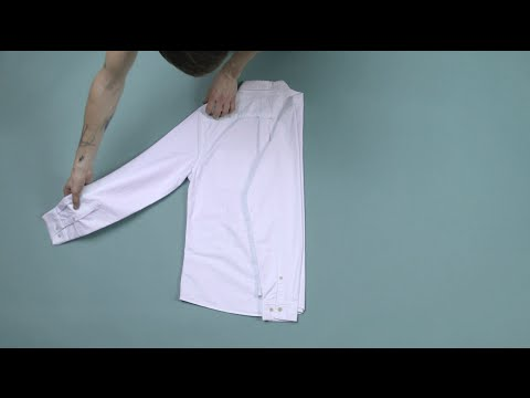 How to fold and pack a shirt | ASOS Menswear tutorial