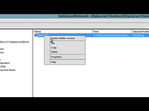 MDT 2013 - Creating an ISO Boot Media