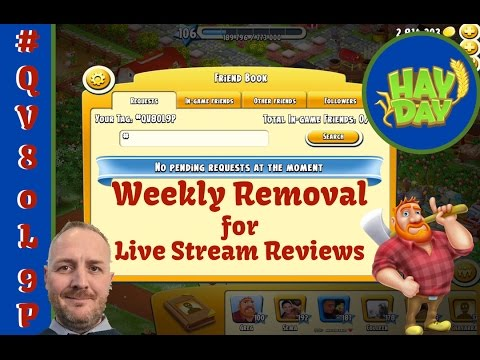 Hay Day - Friends Book - Removal and Reviews Reason