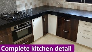 Download Complete Kitchen Design With Detail Video