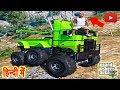 GTA 5 - Super 6x6 Off-Road Truck, Hill Climbing, Off-Road Track (HINDI/URDU)