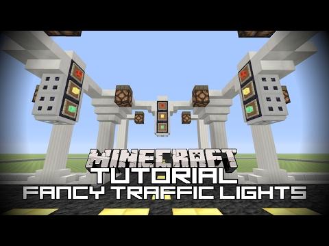 Minecraft Tutorial | Fancy Traffic Lights| Minecraft Xbox One Edition.